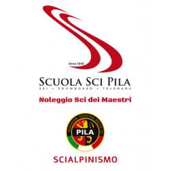 Scialpinismo con la Scuola di sci di Pila