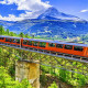 Trenino del Bernina - Agosto