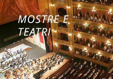 Cultura: mostre, spettacoli e teatro